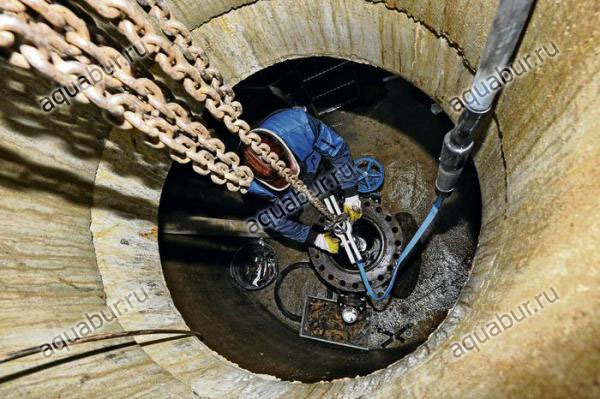замена и монтаж скважинного насоса ЭЦВ, Grundfos SQ. замена и монтаж скважинного насоса.